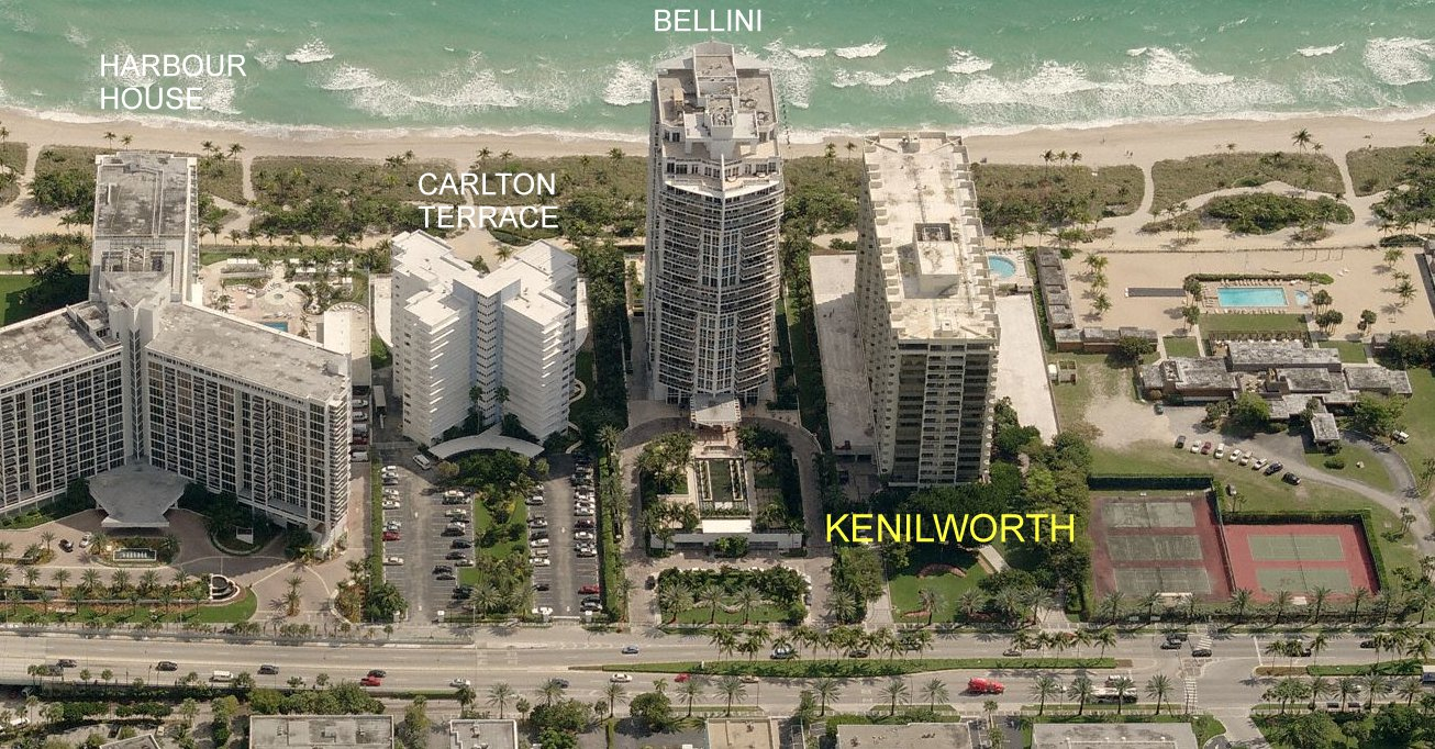 Kenilworth Condo Bal Harbour Miami Fl 10205 Collins Ave
